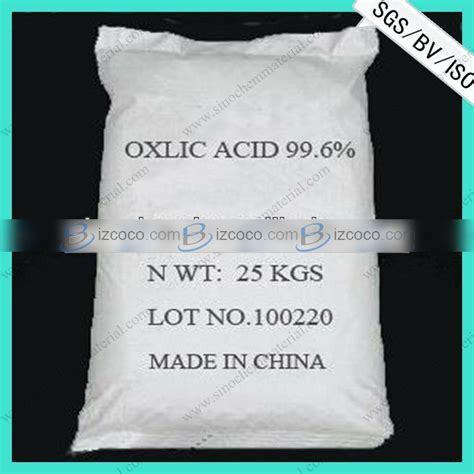 high grade oxalic acid home depot for detergent of metal