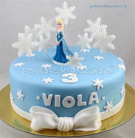 Decorate Cake At Home by Torta Frozen In Pasta Di Zucchero Con Elsa Polvere Di