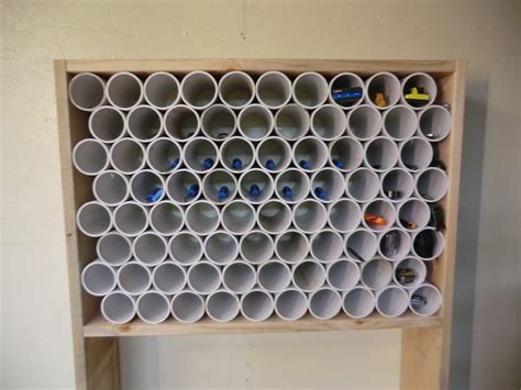 Pvc Tool Rack by Pvc Pipe Organizer Rack The Gahooa Perspective