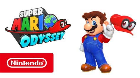 Super Mario Odyssey Giveaway - super mario odyssey nintendo switch trailer youtube
