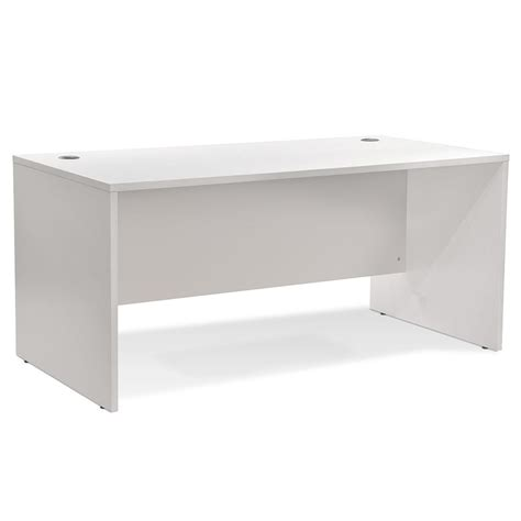 modern desks series 100 white 63 quot desk eurway