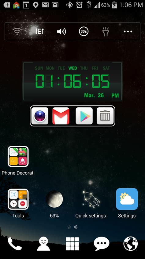 digital clock widget tools personalize your android