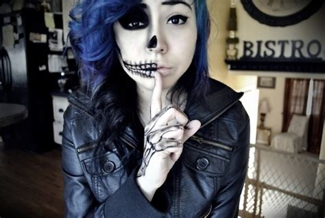 imagenes halloween emo emo skull makeup pictures photos and images for facebook