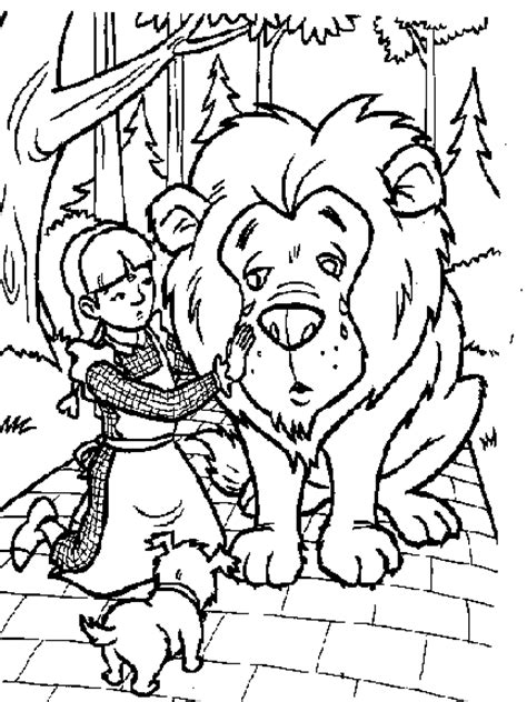 printable coloring pages wizard of oz wizard of oz coloring pages for coloringpagesabc