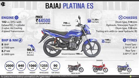 Honda Dream by Bajaj Platina 100 Comfortec Price Specs Review Pics