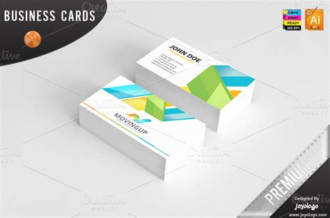 Advertising Business Cards Templates by 3d Arrows Marketing Business Cards Business Card