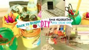 school decorations back to school diy room organization desk decor ideas