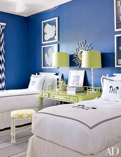 bedroom decorating inspiration soothing shades  blue