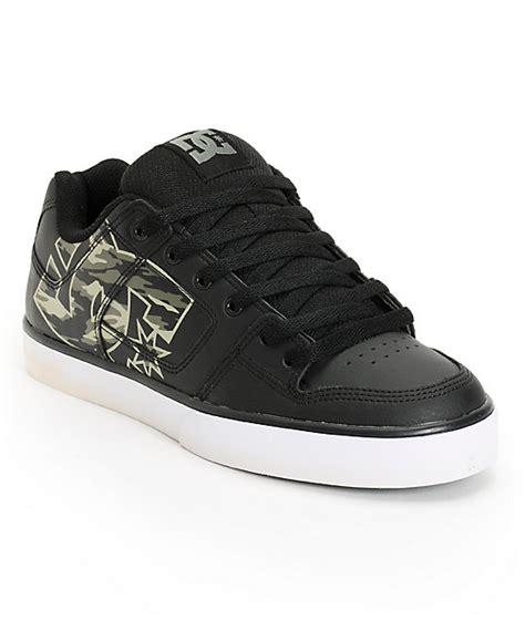 Dc Skate Lounge dc xe black camo skate shoes at zumiez pdp