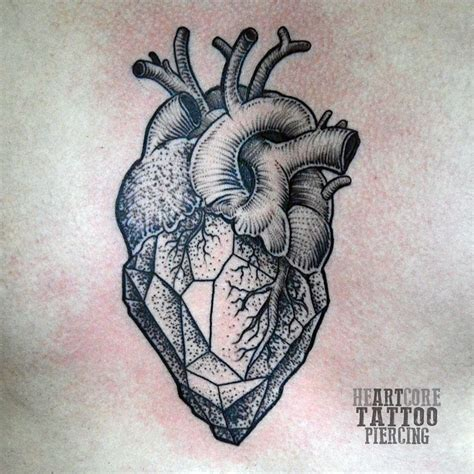heart tattoos tumblr best 25 geometric ideas on
