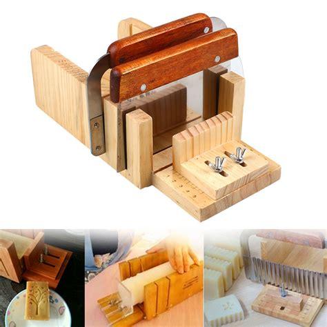 3pcs Professional Soap Making Tool Set Adjustable Wooden