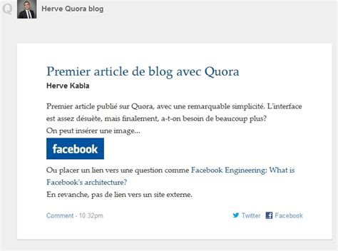 blogger quora a quoi servent les blogs sur quora