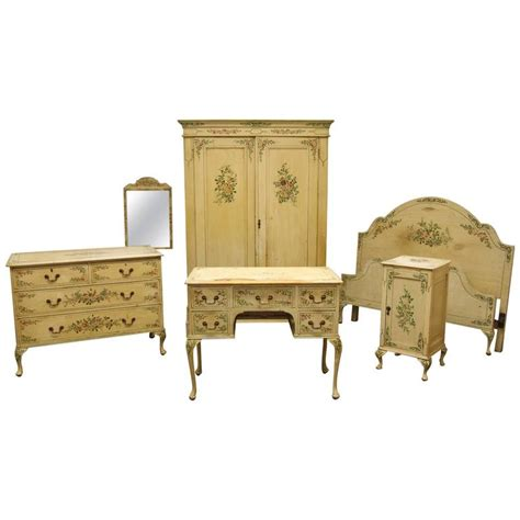 victorian bedroom furniture for sale victorian painted bedroom suite for sale at 1stdibs