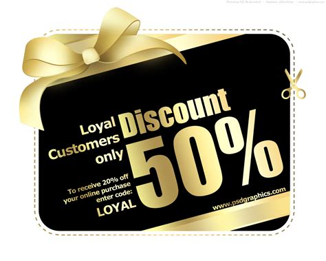 discount card template gold and black shopping card template psd psdgraphics