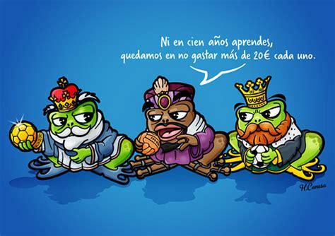 imagenes de reyes magos caricatura los reyes magos en caricatura imagui