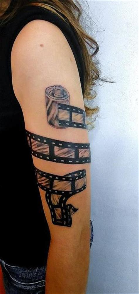 film strip tattoo designs 41 cinema tattoos