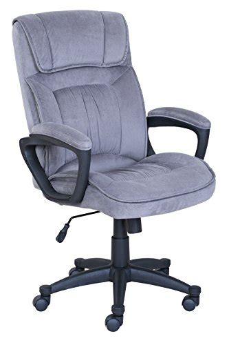 velvet swivel desk chair serta executive office chair in velvet gray microfiber