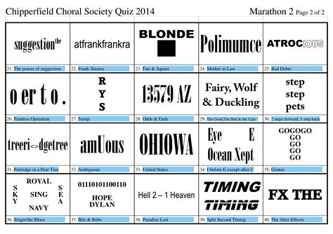 quiz questions dingbats image gallery dingbats