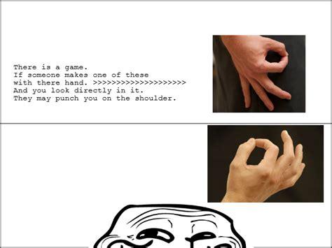 Finger Meme - circle finger game