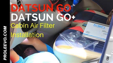Filter Kabin Ac Mobil Datsun Go Plus Go Panca Filter Ac Ken Carbon cara pasang filter ac kabin datsun go go