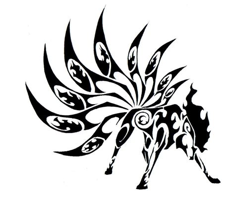 tribal wolf tattoo design tribal wolf animal design