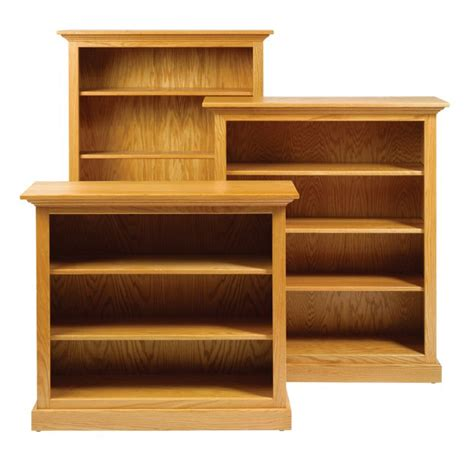 traditional bookcase amish crafted furniture