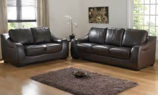 Brown Leather Sofa Sets Bedford Brown Leather Sofa Set Plushemisphere