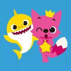 Topper Baby Shark Mini Doo Doo Set baby shark cake baby shark doo doo doo shark fondant topper cake ideas ornaments