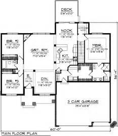 craftsman ranch floor plans 4 bedroom bungalow house plans ranch bungalow floor plans