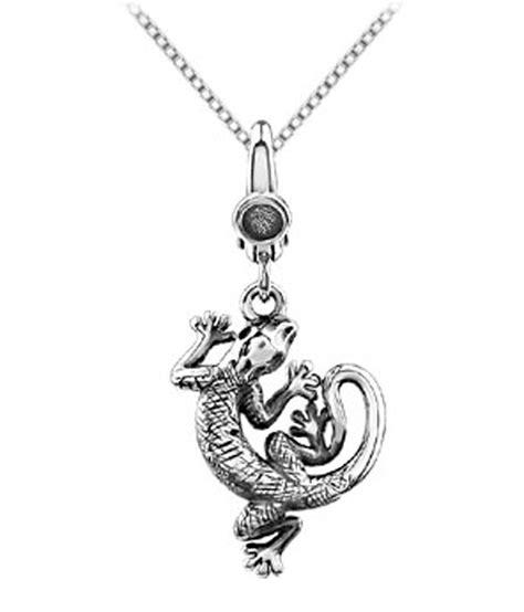 lizard charm pendant in 925 sterling silver 20 00x16 00