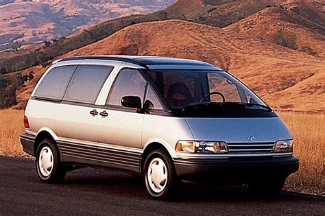 toyota previa 1991 97 toyota previa consumer guide auto