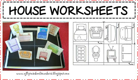 kindergarten activities my house esl house theme worksheets esl house pinterest