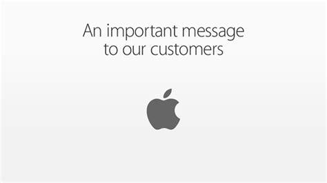 Apple Customer Letter Fbi 2月17日 本日のニュースまとめ読み 政府からのセキュリティ機能回避要求に対する ティム クック氏の反対声明