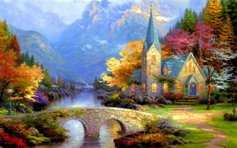 hd peaceful countryside wallpaper