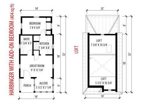 1 Bedroom Cottage Floor Plans Tumbleweed Tiny House Company Small House Style