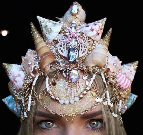 1000 Images About Mermaid Crowns 1000 Images About Geektastic Hats Hair On Crochet Disney Hair And Hair Painting