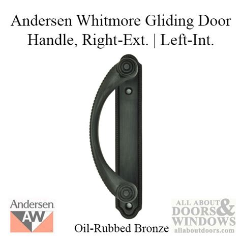 andersen frenchwood door handles andersen frenchwood gliding door handle whitmore lh