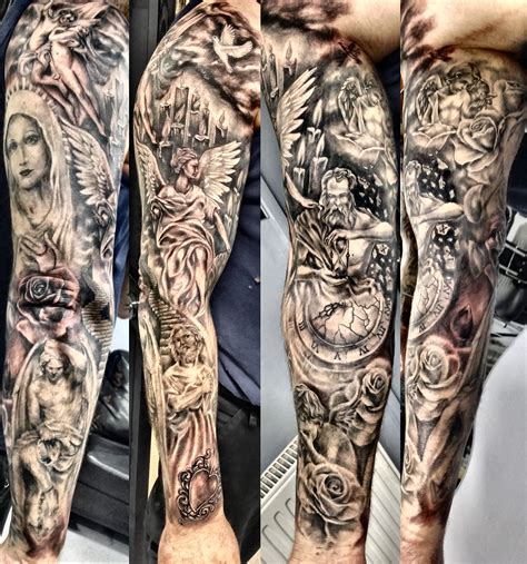 religious tattoo sleeves for men pinterest the world s