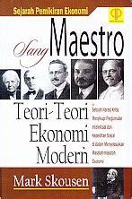 Buku Sejarah Pemikiran Ekonomi Sang Maestro Skousen Prenada Ar toko buku rahma sang maestro teori teori ekonomi modern