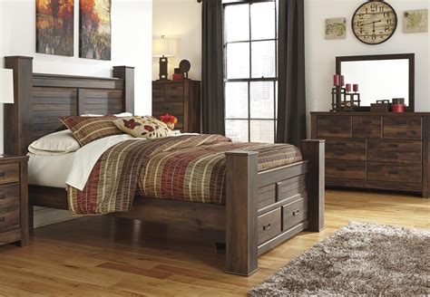 miskelly bedroom sets signature design by ashley quinden queen bed dresser and
