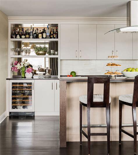 kitchen bar cabinets kitchen bar with mini wine fridge and beverage fridge