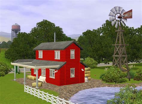 buy a barn house mod the sims old red barn house