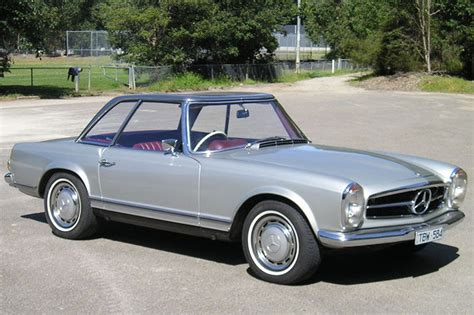 Mercedes Coupe Convertible by Sold Mercedes 280sl Coupe Convertible Auctions Lot