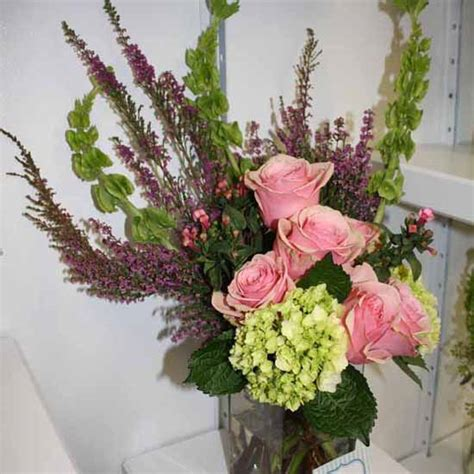 flower arrangement ideas heather flower arrangements colorful table centerpiece ideas