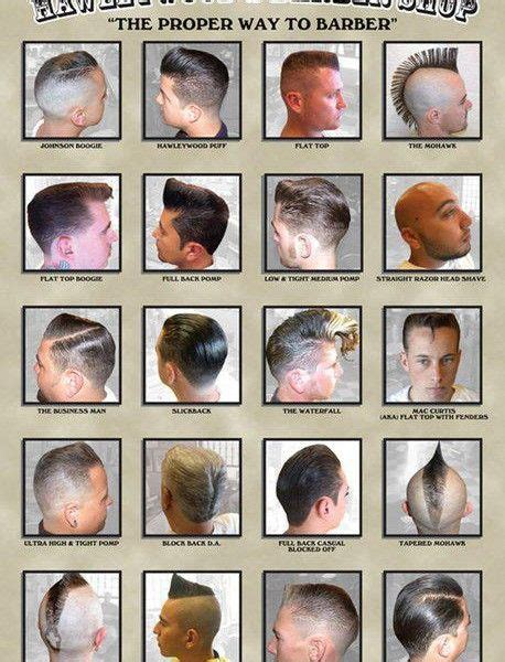 names of all the hair magazine men hairstyle names list images men hairstyles with names