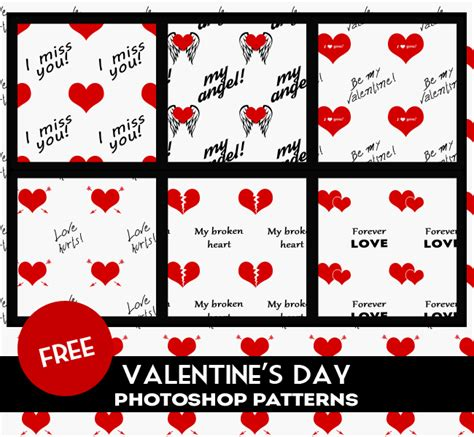 patterns photoshop how to install valentine heart patterns for photoshop psddude
