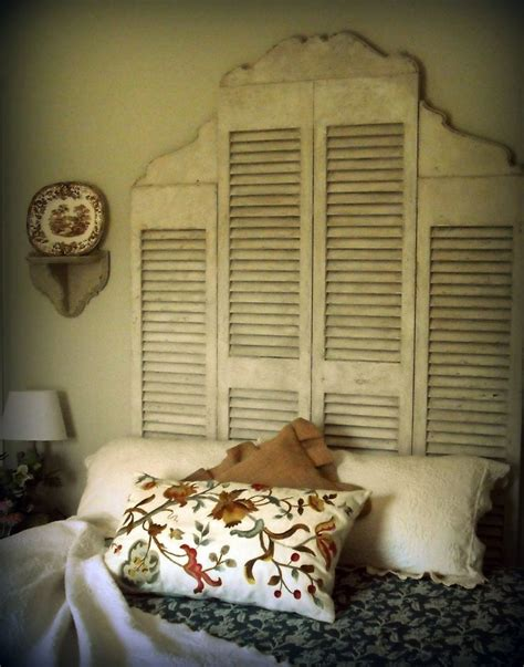 old shutters for headboard the 113 best images about louver door ideas on pinterest