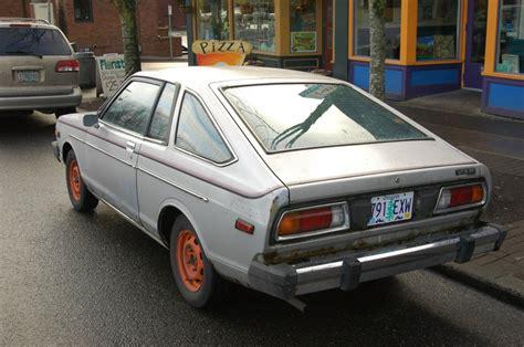 datsun 210 hatchback parked cars 1979 datsun 210 hatchback