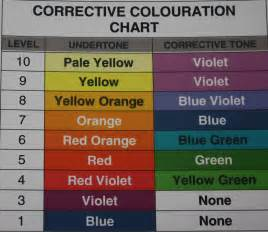 hair color level chart b2mr a place to thoughts grow idea s violet shade