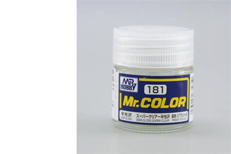 Mr Color 181 Semi Gloss Clear mr color semi gloss clear eduard store